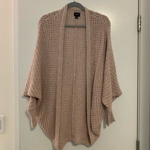 Dust pink cocoon sweater